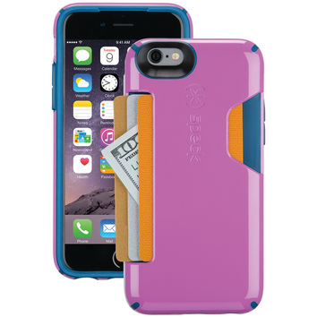 SPECK 73806-C054 iPhone(R) 6/6s CandyShell(R) Card Case (Beaming Orchid Purple/Deep Sea Blue)