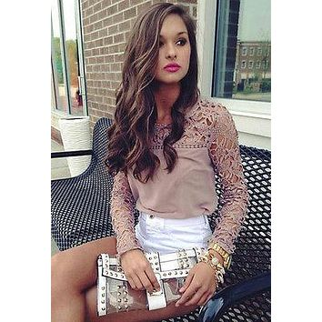 New 2017 Woman Blouse Lace Chiffon Women Clothing Tops And Blouses Fashion Blusas Feminina Plus Size Vintage lace chiffon blouse