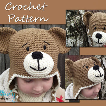 Newborn Puppy Hat Crochet Pattern Baby From Lovelybabygift On