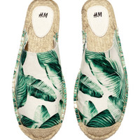 Espadrille Slip-ins - from H&M