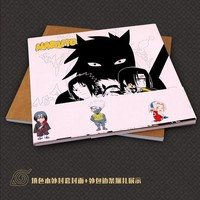 Naruto Sasauke ninja  Coloring Book Secret Garden Style For Relieve Stress Kill Time Graffiti Painting Drawing Book AT_81_8