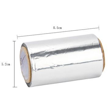 50m Hair Perm Tin Foils Tape Paper Hairdressing Styling Tools