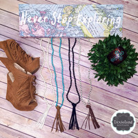 Tassel Necklaces (choose color)