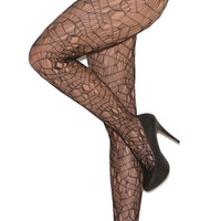 Plus Size Ripped Net Pantyhose