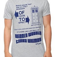 Doctor Who Timey Wimey T-Shirt - 109914