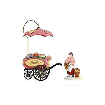 "Department 56 Heritage Village ""Chelsea Market Flower Monger & Cart"" #58157"