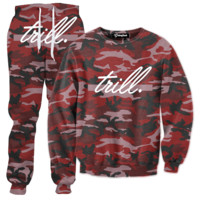 Trill Camo Tracksuit