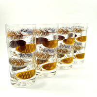 Mid Century Modern Highball Glasses