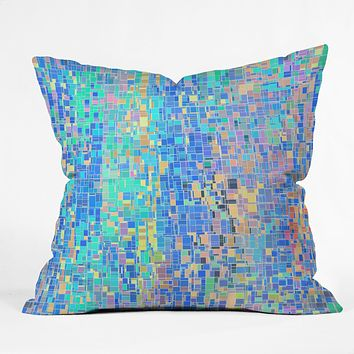Lisa Argyropoulos When Oceans Collide Throw Pillow