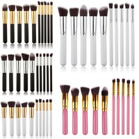 10 pcs Makeup Brush Set