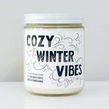 Cozy Winter Vibes Candle