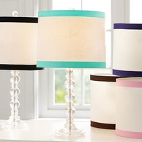 Ribbon Trim Table Shade
