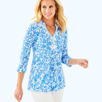 Kaia Knit Tunic | 29324-resortwhiteonaroll | Lilly Pulitzer
