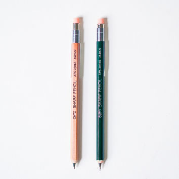 OHTO 0.5mm Short Wooden Mechanical Pencil