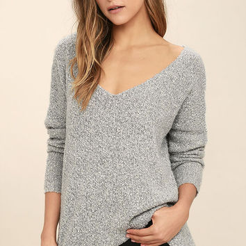 Cozy Life Light Grey Sweater
