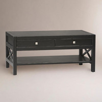 Antiqued Black Easton Coffee Table - World Market