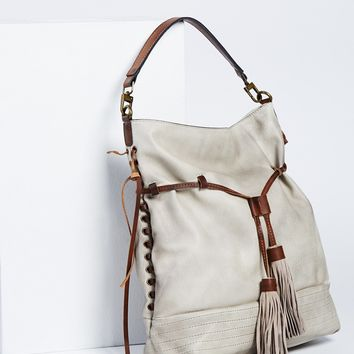 Free People Gramercy Washed Hobo