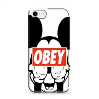 Mickey obey Style 2 iPhone 7 | iPhone 7 Plus case
