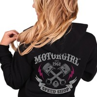 Women's Speed Shop Zip Hoodie