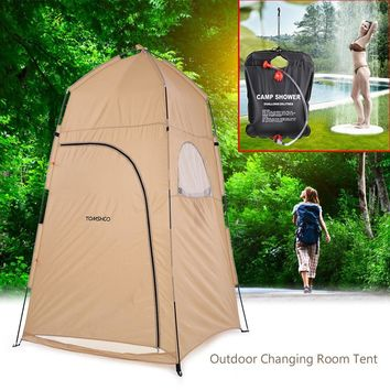 Portable Outdoor Shower Bath Tents Changing Fitting Room Tent Shelter Camping Beach Privacy Toilet Tents