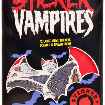 Vampires Sticker Bomb Decals - Pack of 12