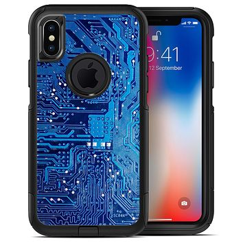 Blue Cirtcuit Board V1 - iPhone X OtterBox Case & Skin Kits