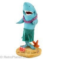 Dancing Shark Dashboard Hula Dolls RetroPlanet.com