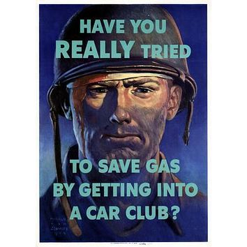 War Propaganda poster Metal Sign Wall Art 8in x 12in