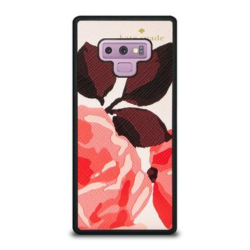 KATE SPADE CAMEROON STREET ROSES 3 Samsung Galaxy Note 9 Case