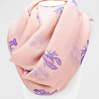 Southern, Louisiana girl crawfish scarf