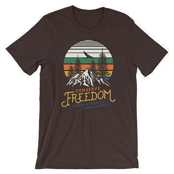 Conserve Freedom Graphic T-Shirt