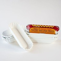 Melamine Hot Dog Holder (Set Of 4)