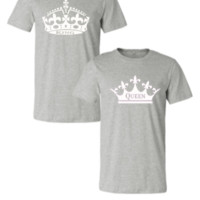 KING AND QUEEN COUPLE - Couple Unisex Tshirt