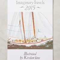 Imaginary Travels 2015 Calendar by Anthropologie Multi One Size House & Home