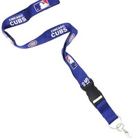 MLB Chicago Cubs Lanyard, Blue