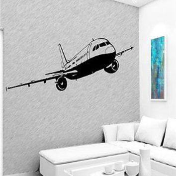 Boeing 747 Airplane Jet Plane Wall Art Sticker Decal D84