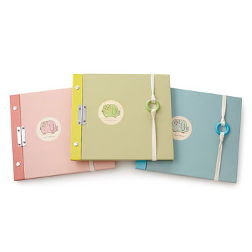 Elephant Baby Photo Album | personalized photo albums