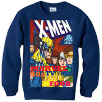 XMEN michael SWEATSHIRT sweater marvel capcom 90s avengers super hero wolverine iron man hulk bane batman small-2xl