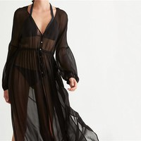 Beach Cover Up Kaftan Robe