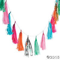 Bright Tassel Garland