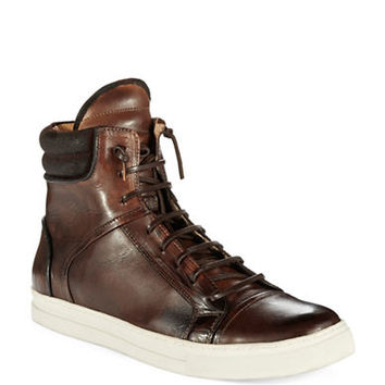 Kenneth Cole New York Double Header High-Top Sneakers