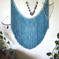 The Deep Blue Wall Hanging | Harlee's Closet