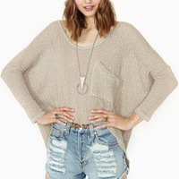 Happy Place Dolman Knit