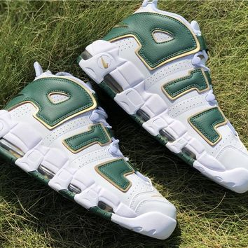 "[ Free Shipping ]Nike Air More Uptempo QS ""Atlanta"" Olympics 1994 - AJ3139 100 Basketball Sneaker"