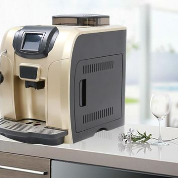 Automatic espresso machine is used for commercial automatic grinder