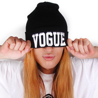 Vogue Beanie Hat Hip Hop Winter Fall Accessories For Women & Teens