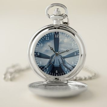 Clear Prop personal customizable Pocket Watch