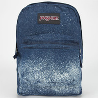 Jansport Super Fx Backpack Indigo Blue/White Galaxy One Size For Men 24679880001