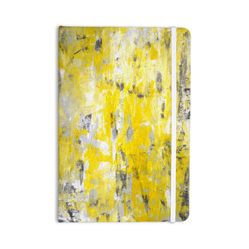 "CarolLynn Tice ""Picking Around"" Yellow Everything Notebook"