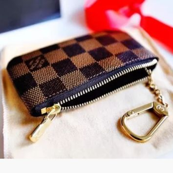 LV Monogram canvas key bag key bag key bag - purse